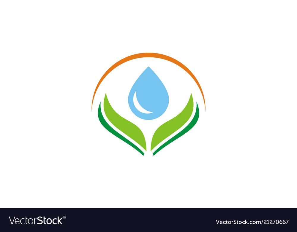 Bio waterdrop logo