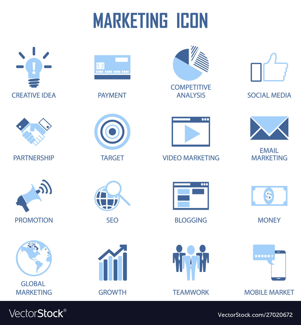 Set business marketing strategy payment
