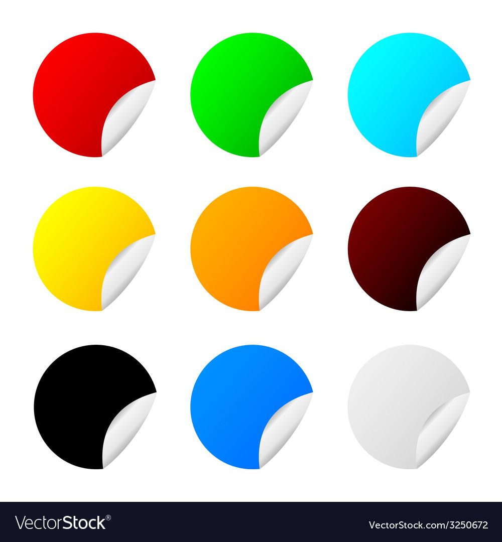 Sticker set color
