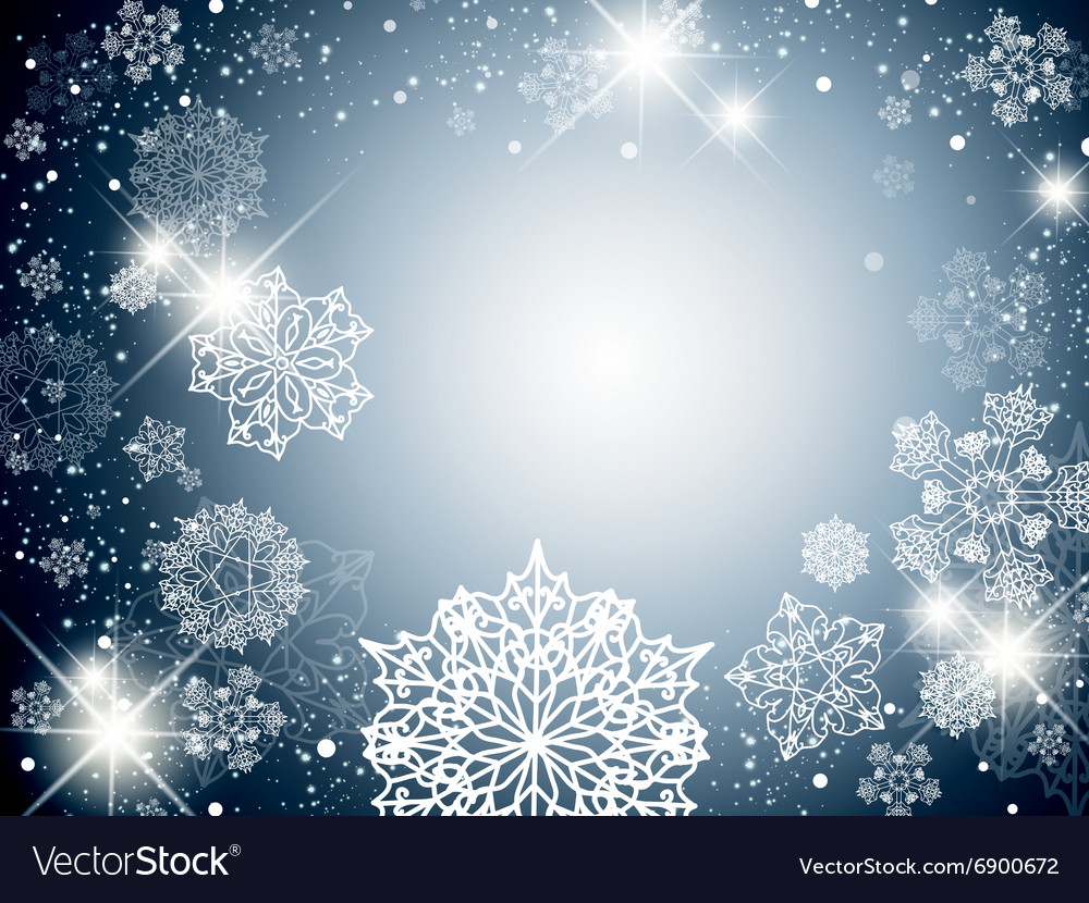 Winter Holiday Background Royalty Free Vector Image