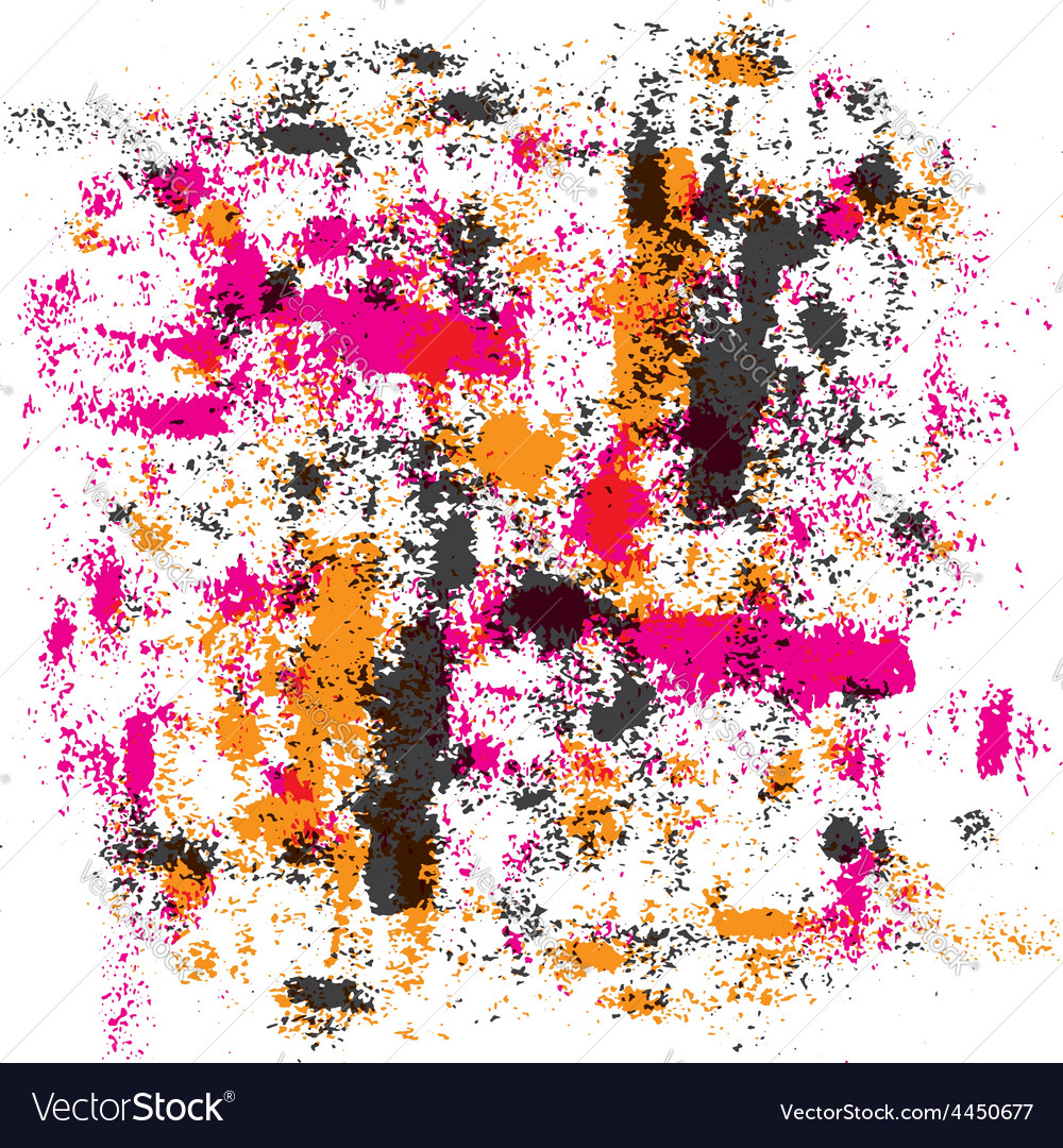 Colourful abstract textured background vector image
