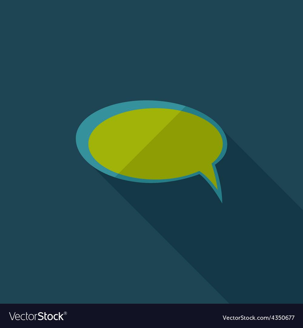 Flat Comic Speech Bubbl