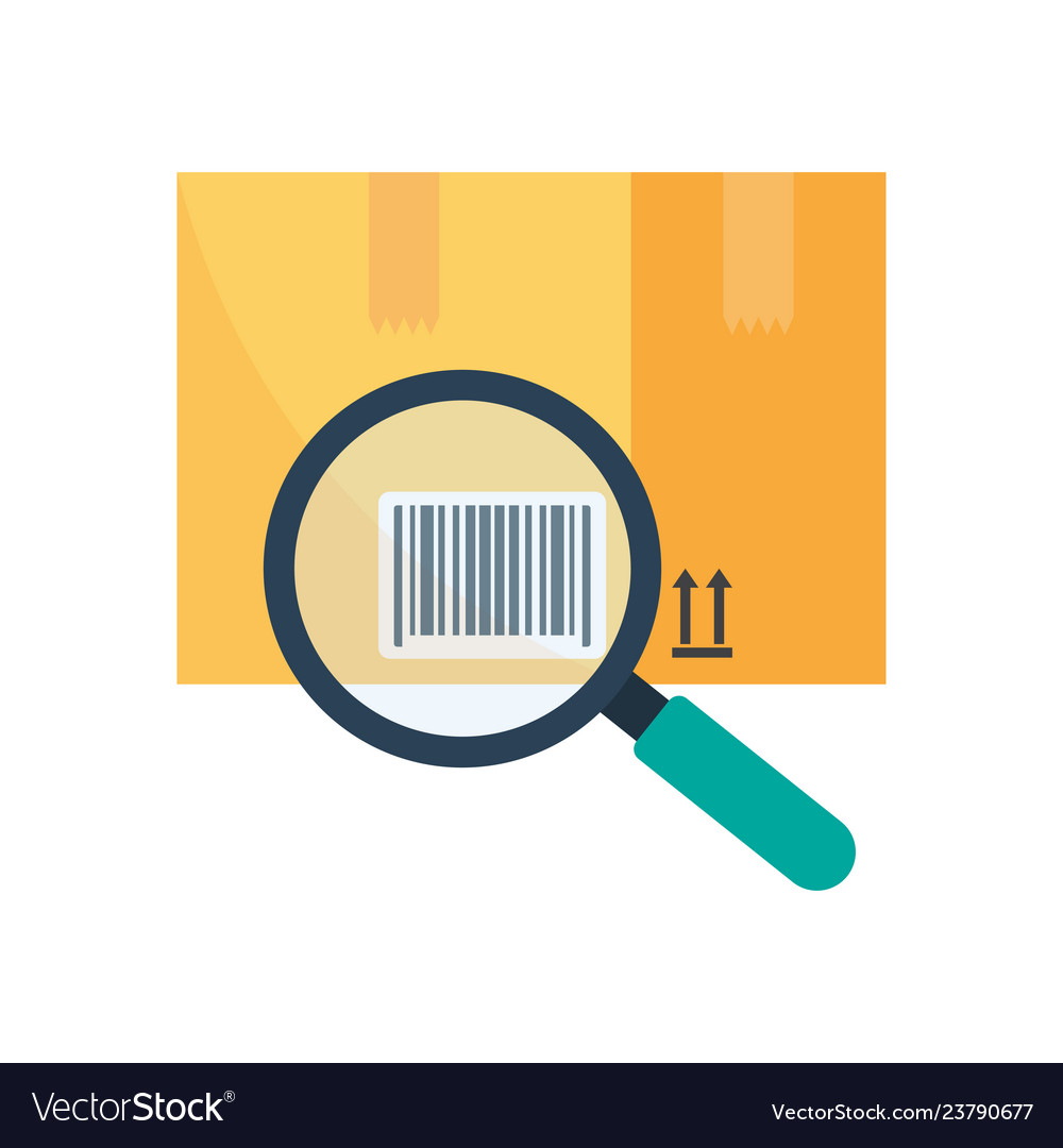 Tracking Parcel Logistic And Delivery Find Barcode