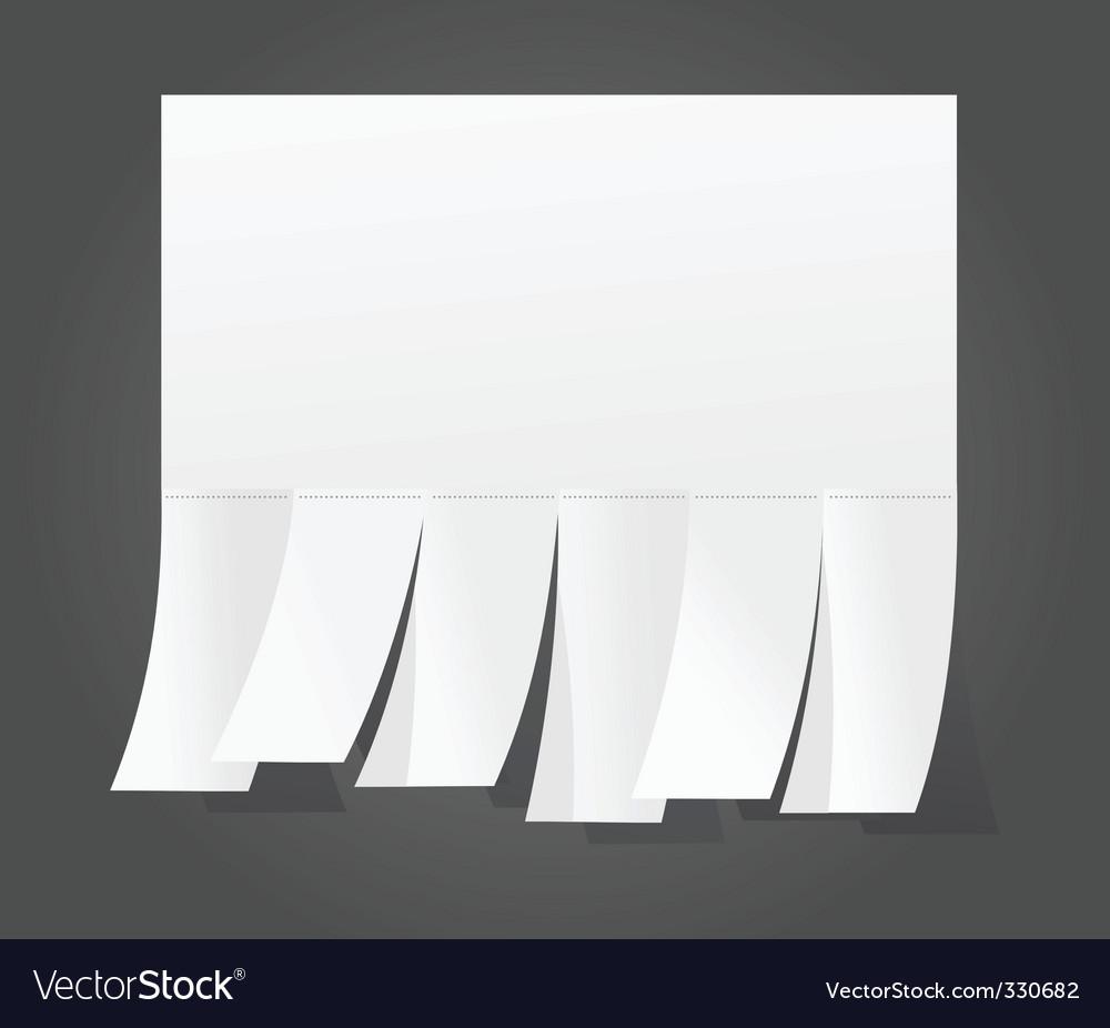 Announcement vector image
