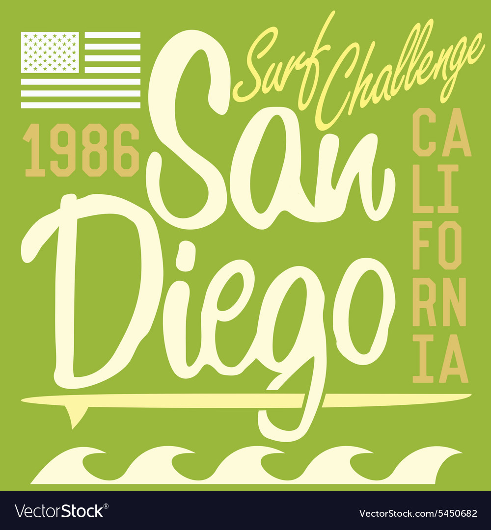 T-shirt Printing design typography graphics Summer