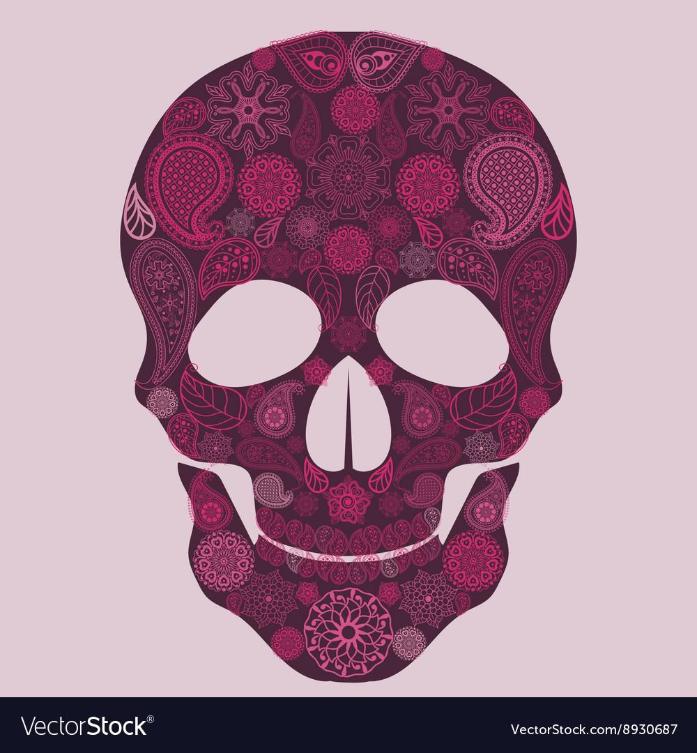 Floral skull Ornate