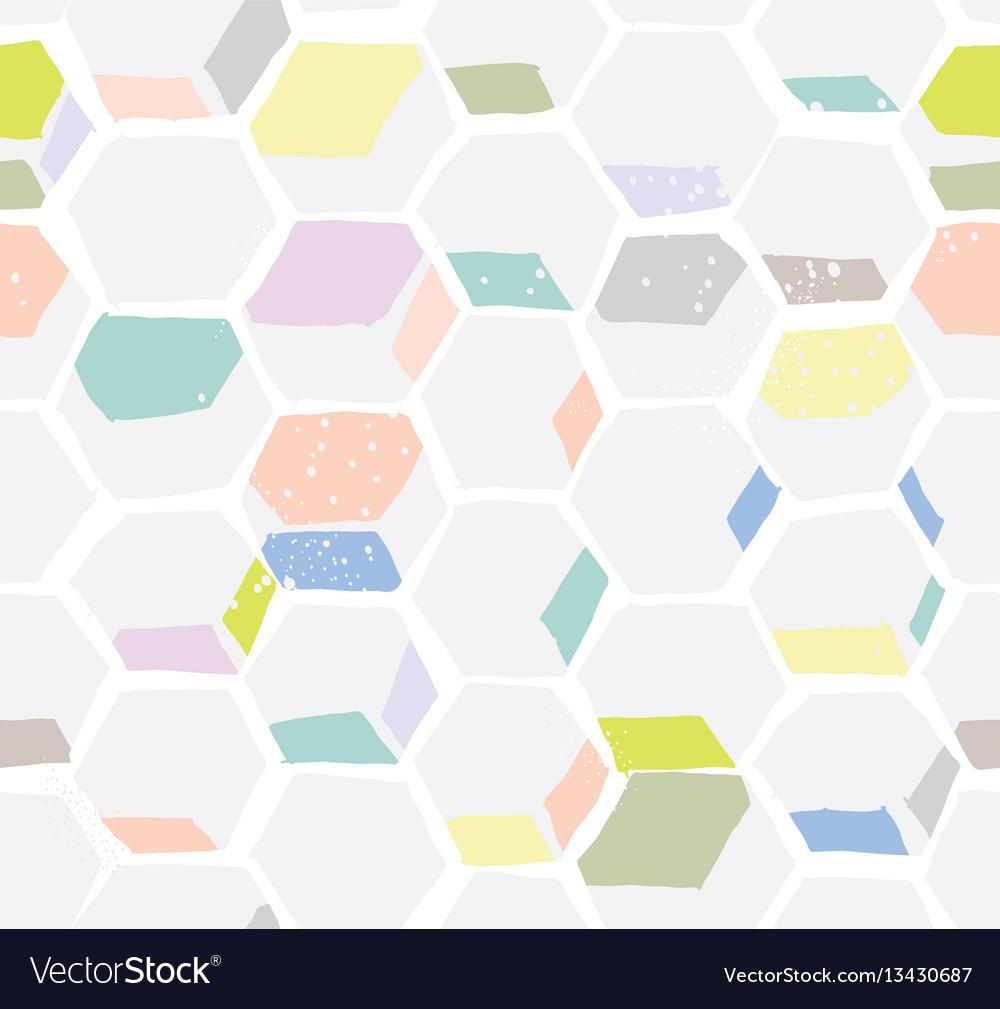 Hexomania seamless pattern