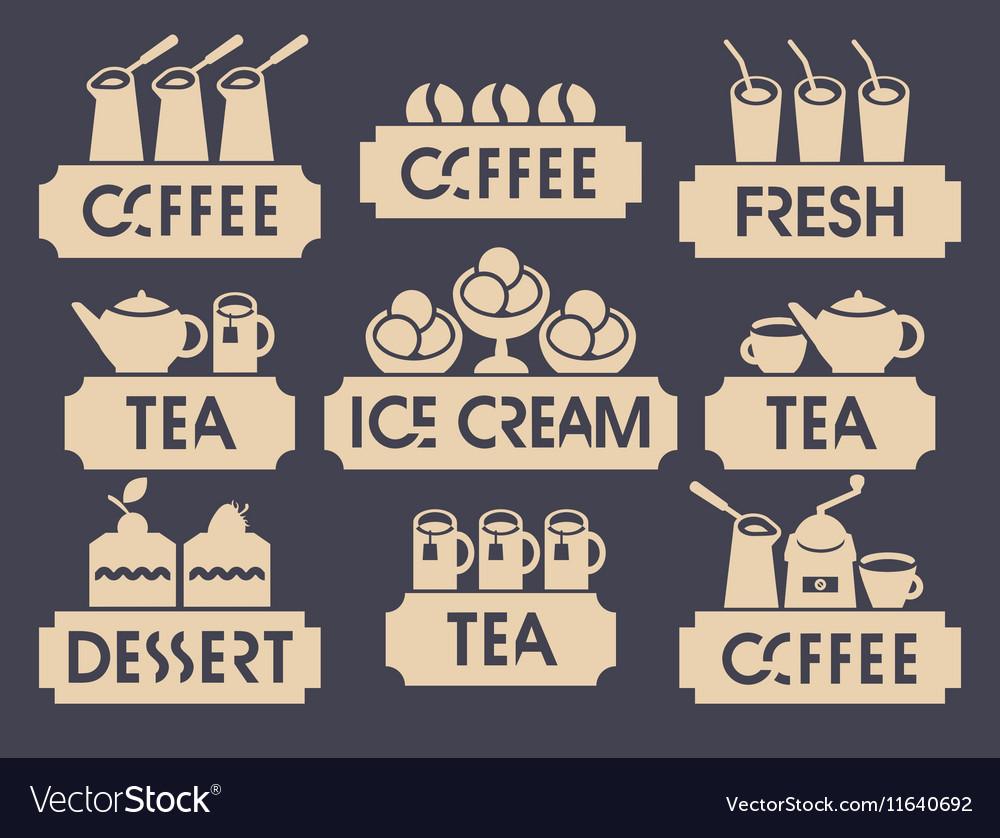 Logo for restaurant or cafe shop