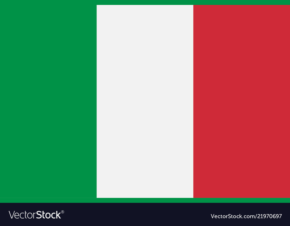 Italy italian flag official colors