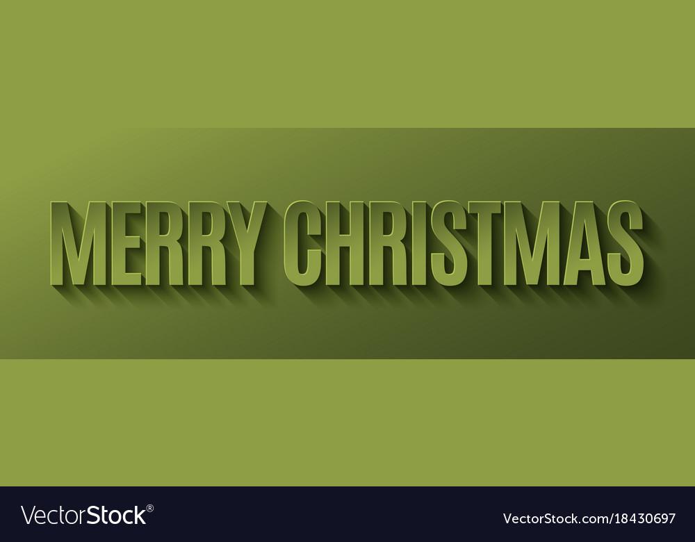 Merry christmas banner design background