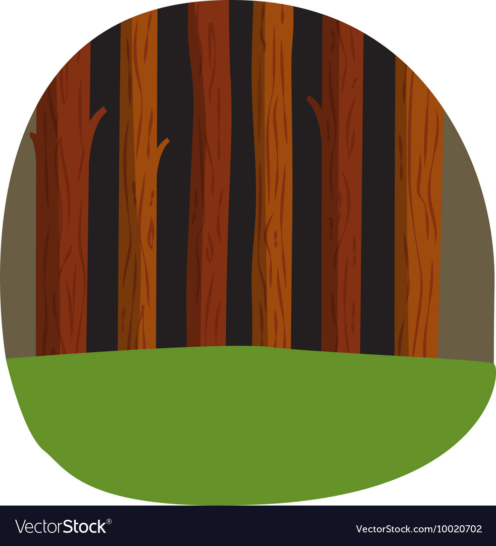 Forest tree vector image
