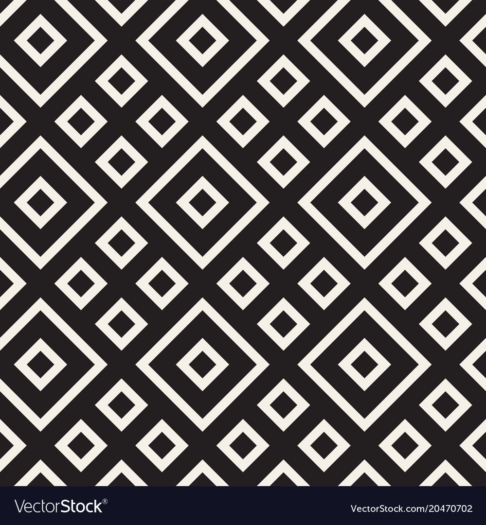 Stylish lines lattice ethnic monochrome texture