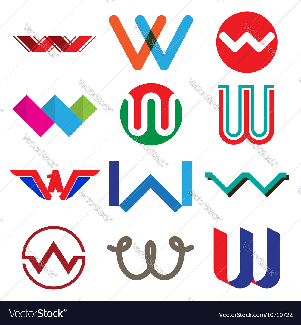 Abstract icons based on the
