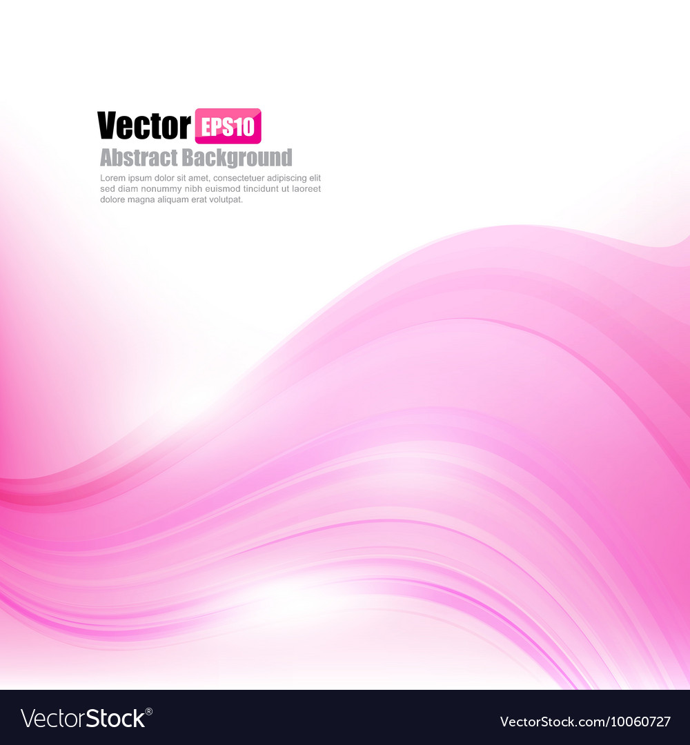Abstract background light pink curve and wave