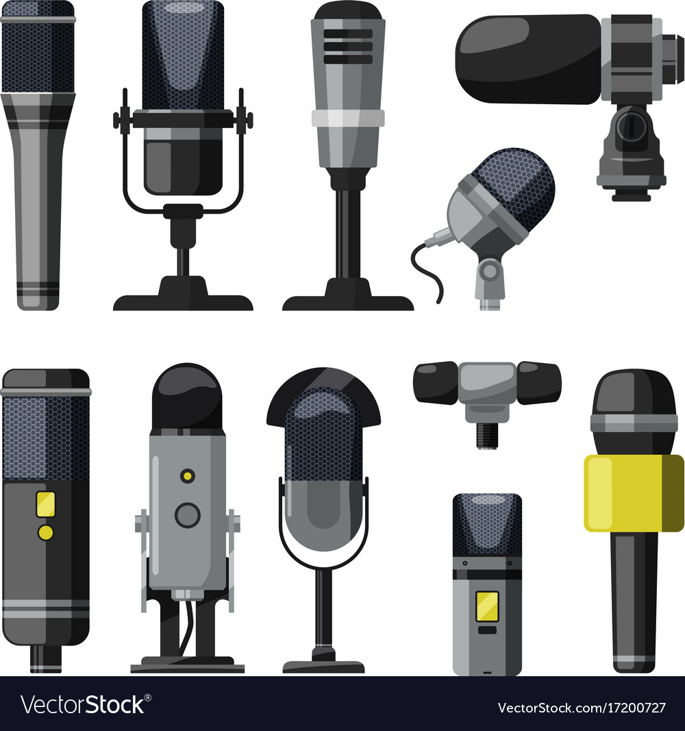 Dictaphone microphone and other professional