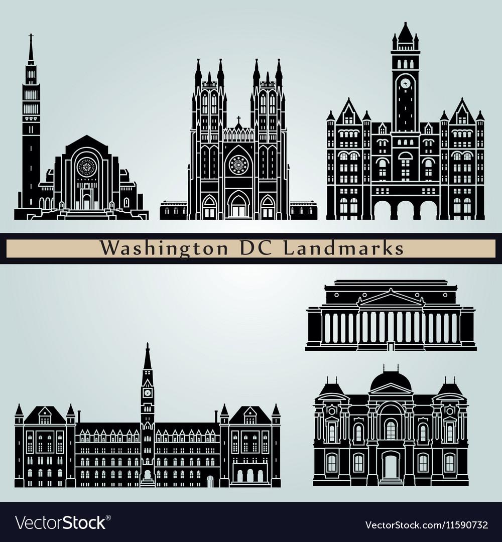 Washington V2 landmarks and monuments