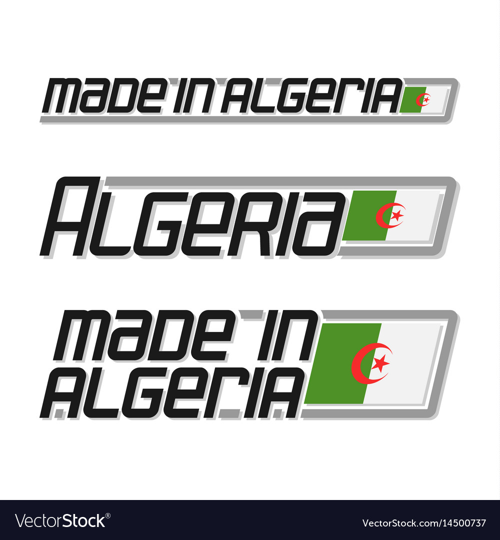 Made in algeria