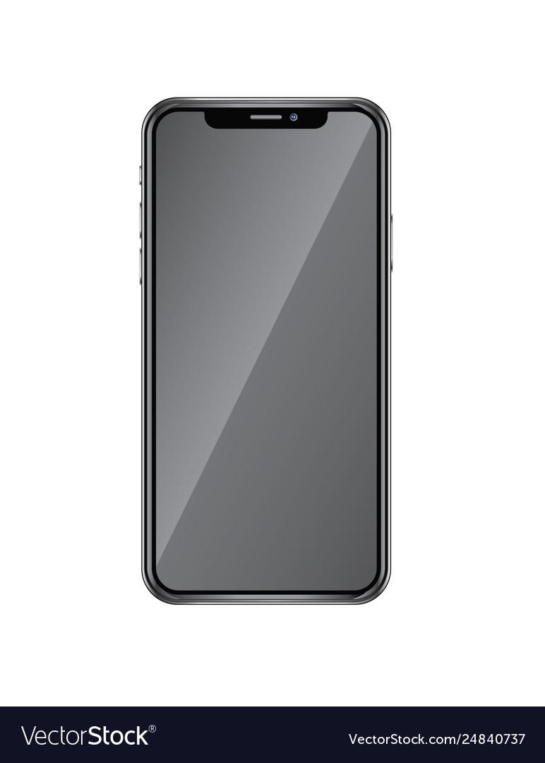 Realistic iphone x realistic