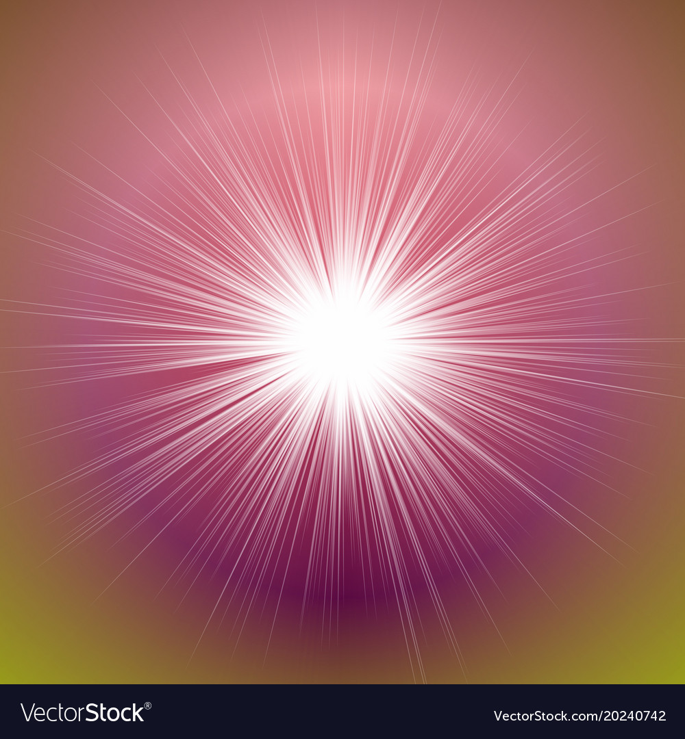 Colorful abstract dynamic gradient blur ray burst