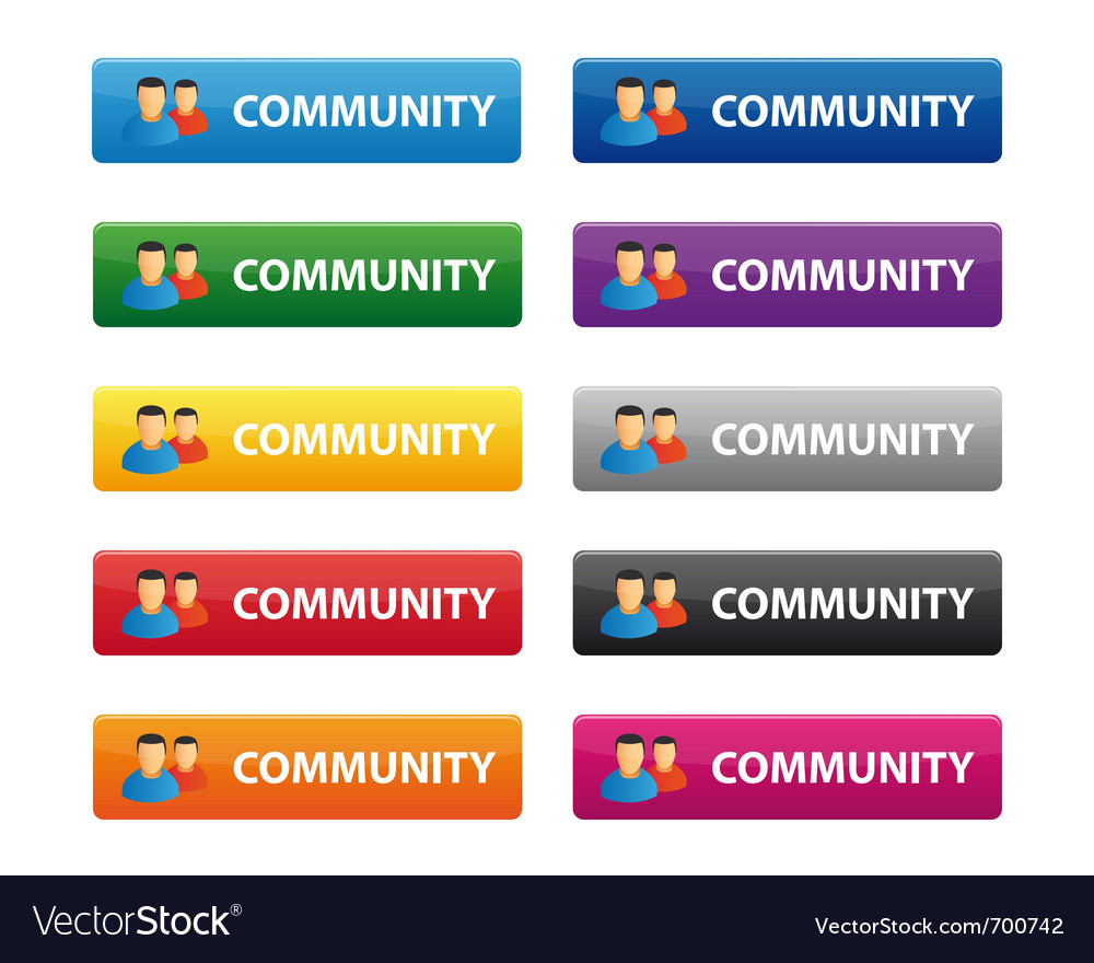 Community buttons
