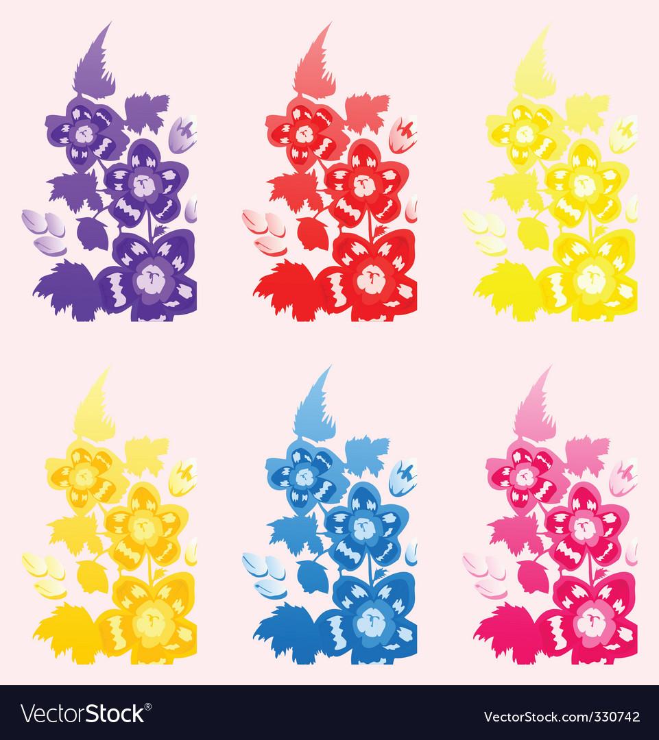 Flower a set