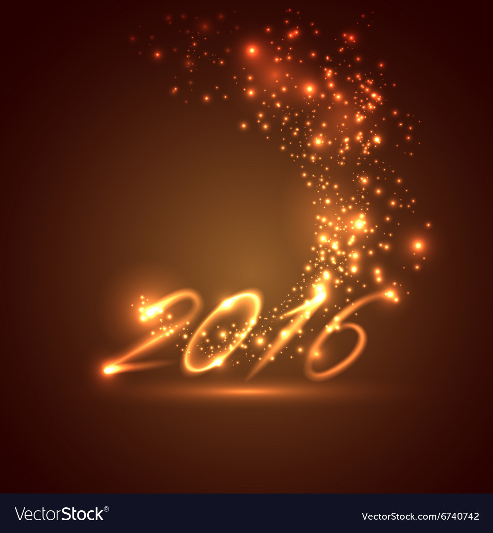 Happy new year 2016 holiday background