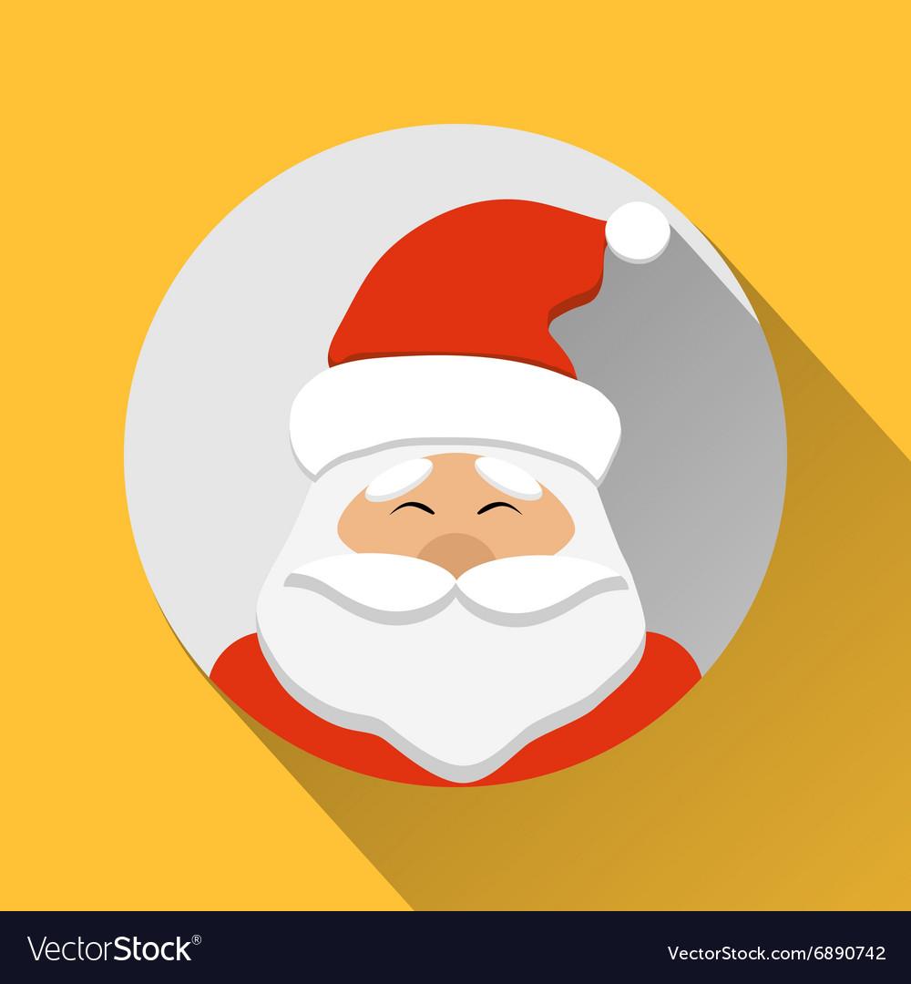 Santa Claus flat style icon