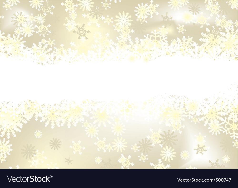 Christmas snowflake gold