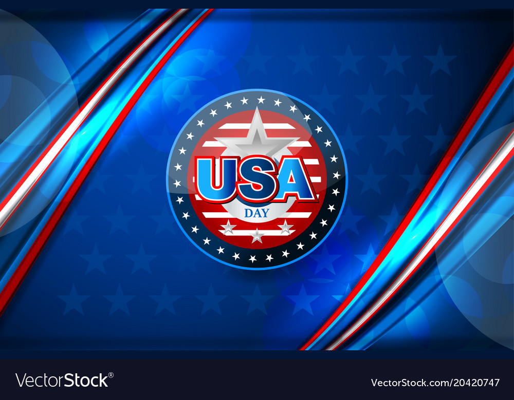 Flag of usa background