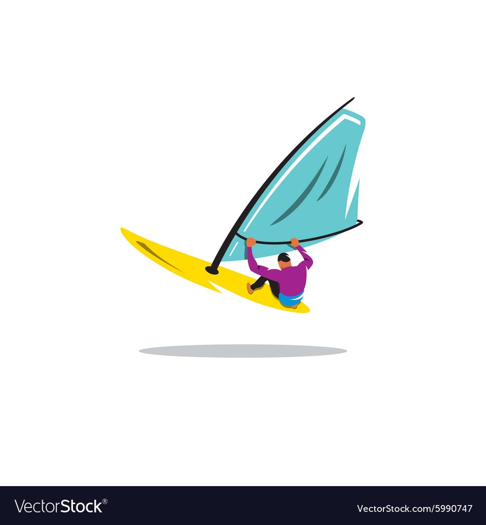 Windsurfing sign