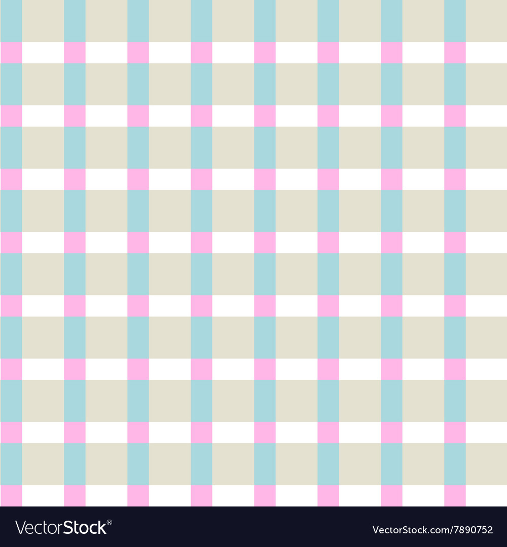 Checkered color pattern