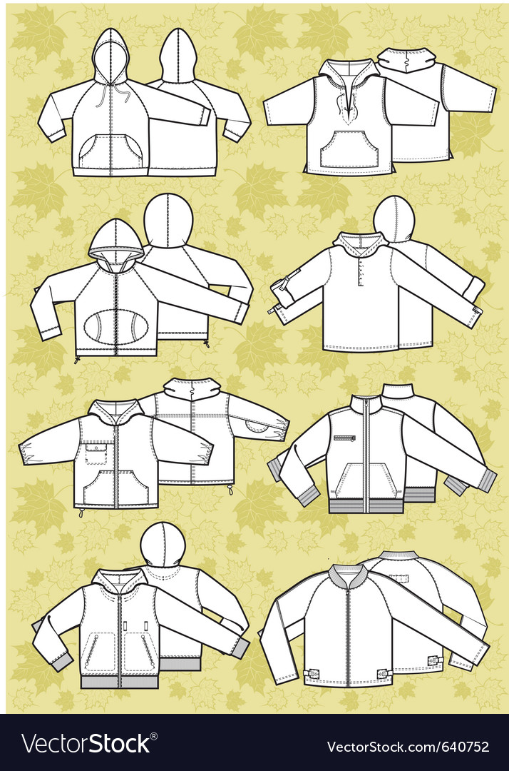 Jacket vector image