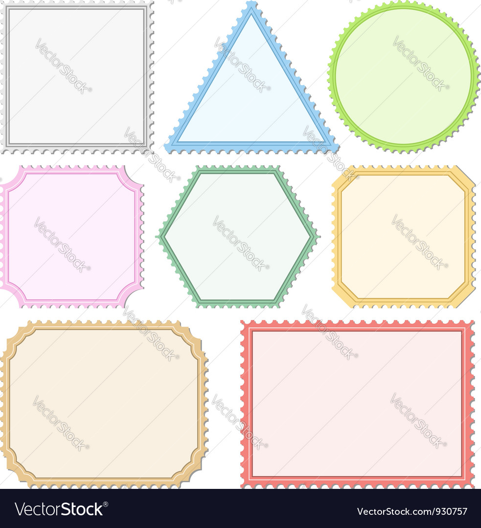 Color Postage Stamps