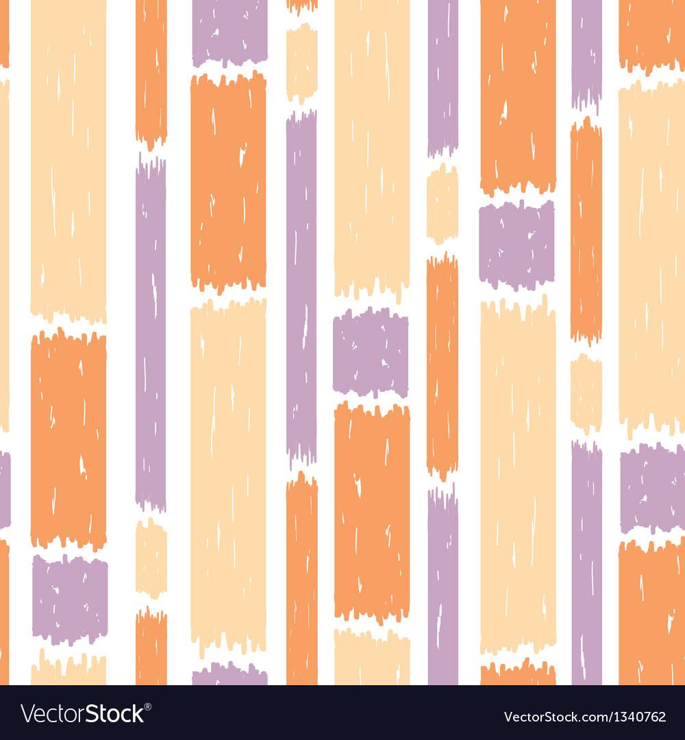 Blue paint vertical stripes seamless pattern