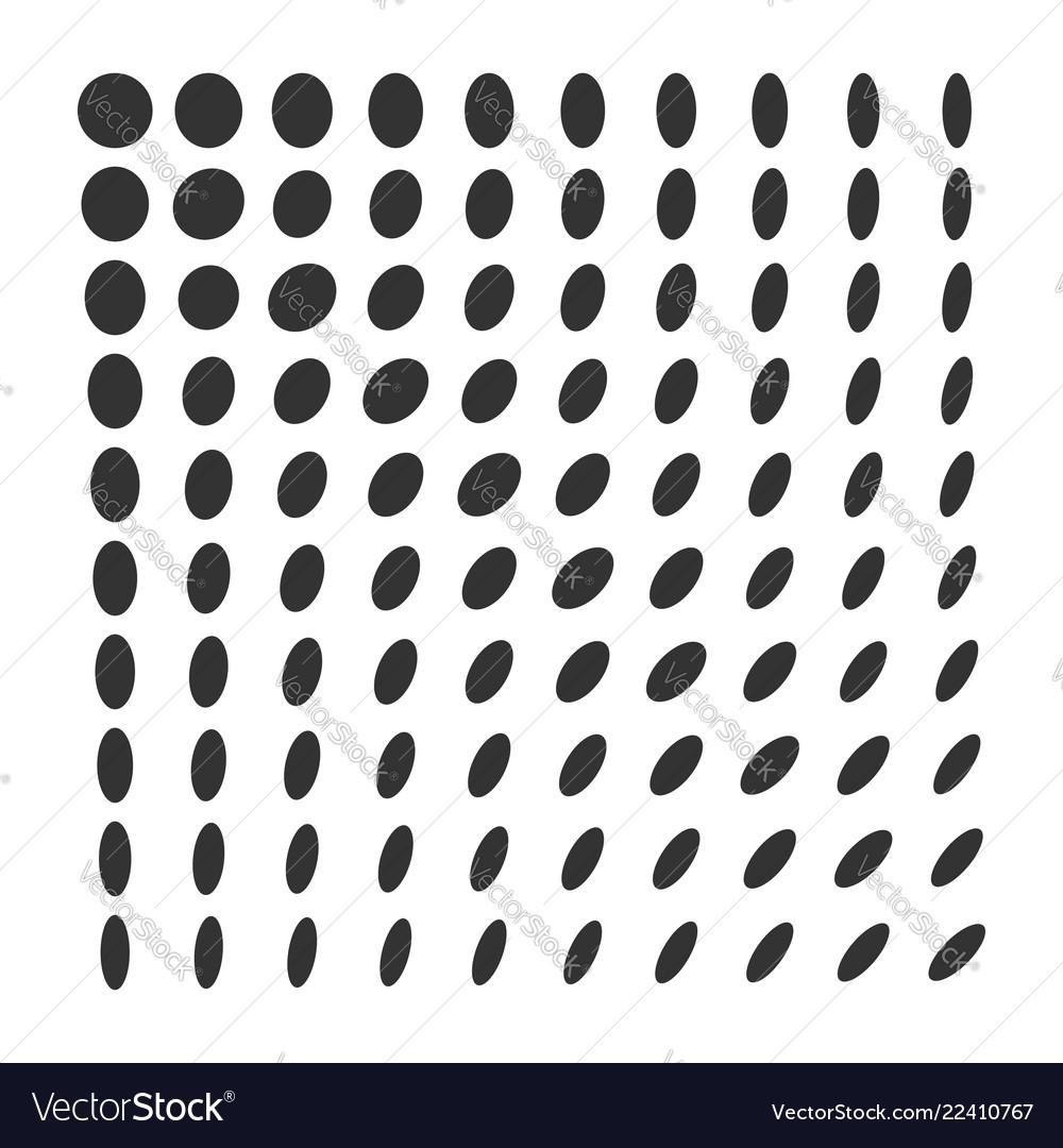 Minimal monochrome dynamic halftone background