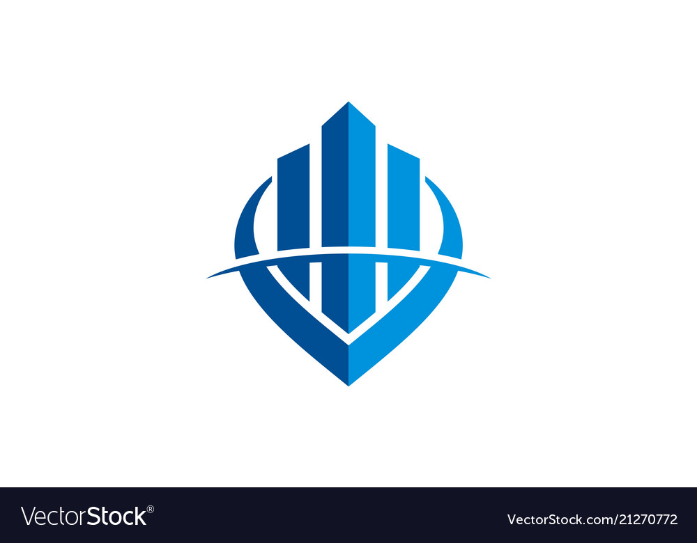 Business finance success logo