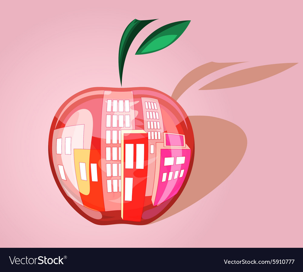 City in the apple