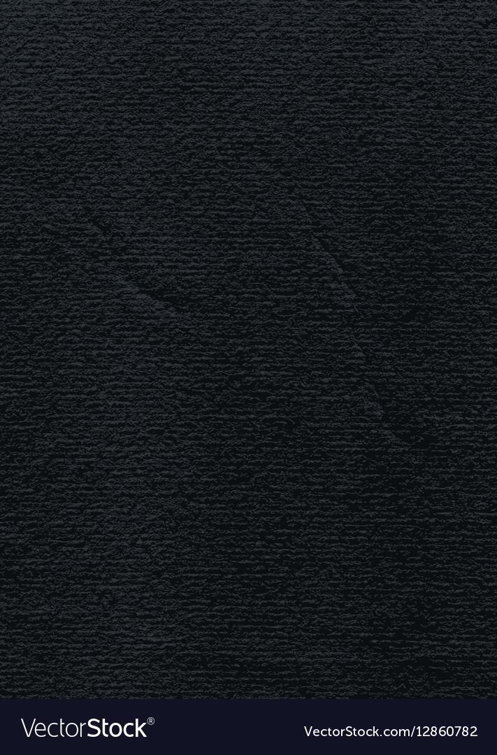 Black paper watercolor texture in vertical format vector image