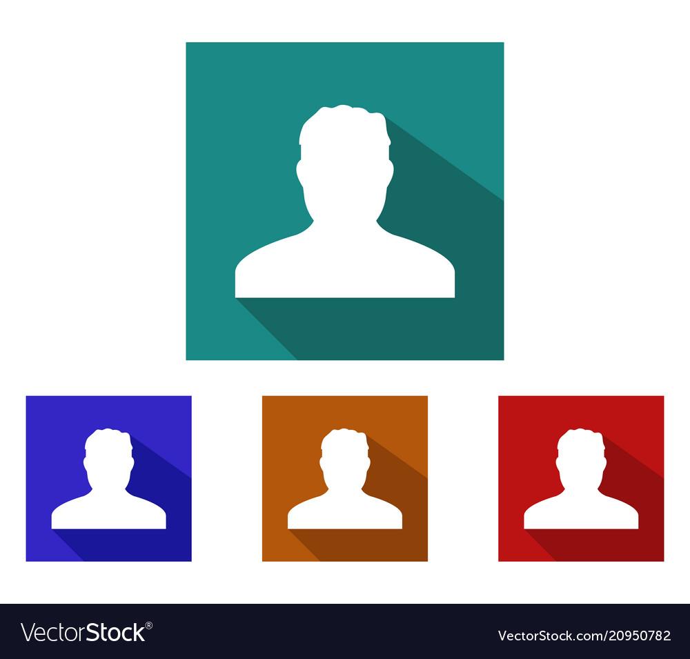 Man profile icon