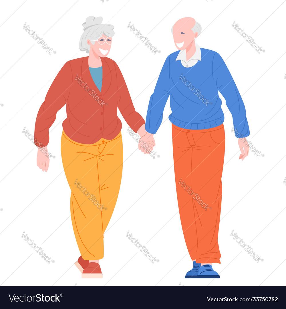 Romantic couples retiree