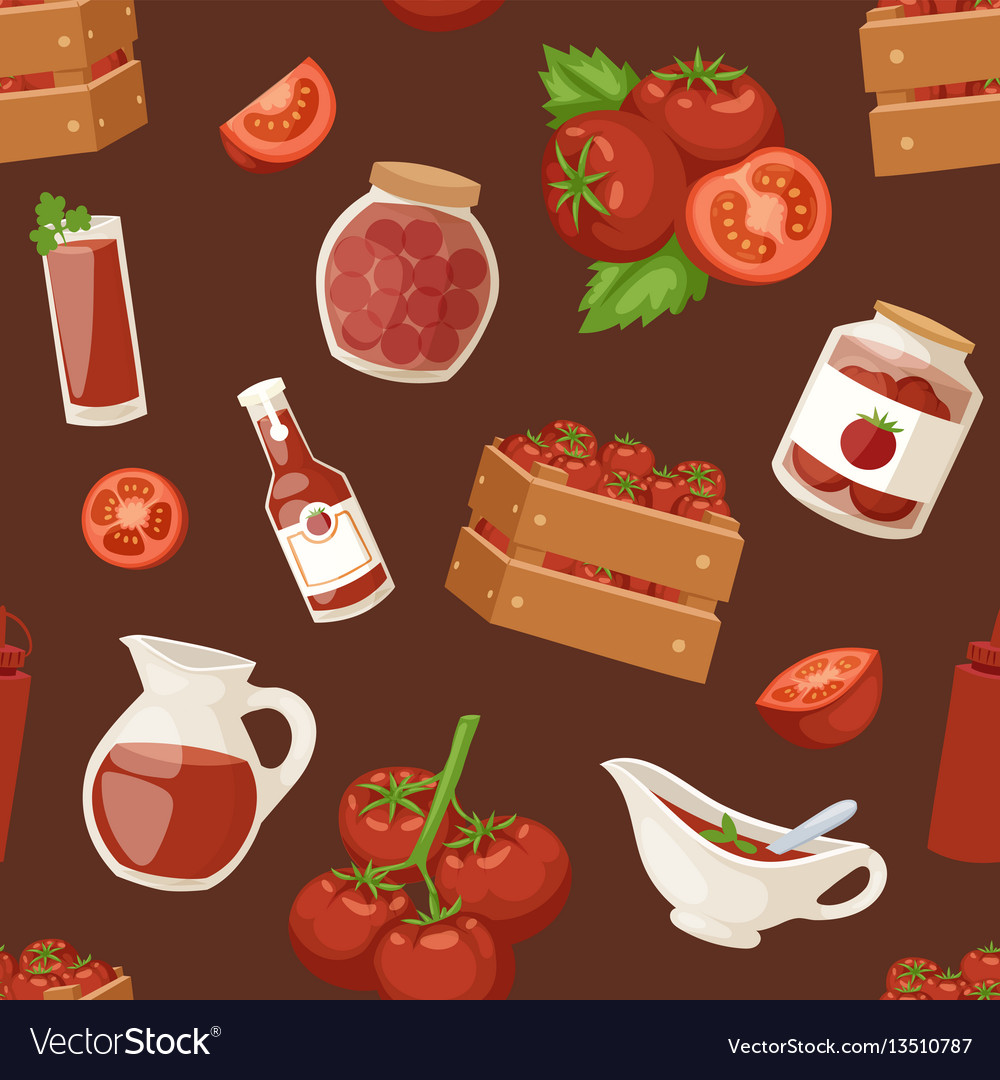 Fresh background organic red tomato products