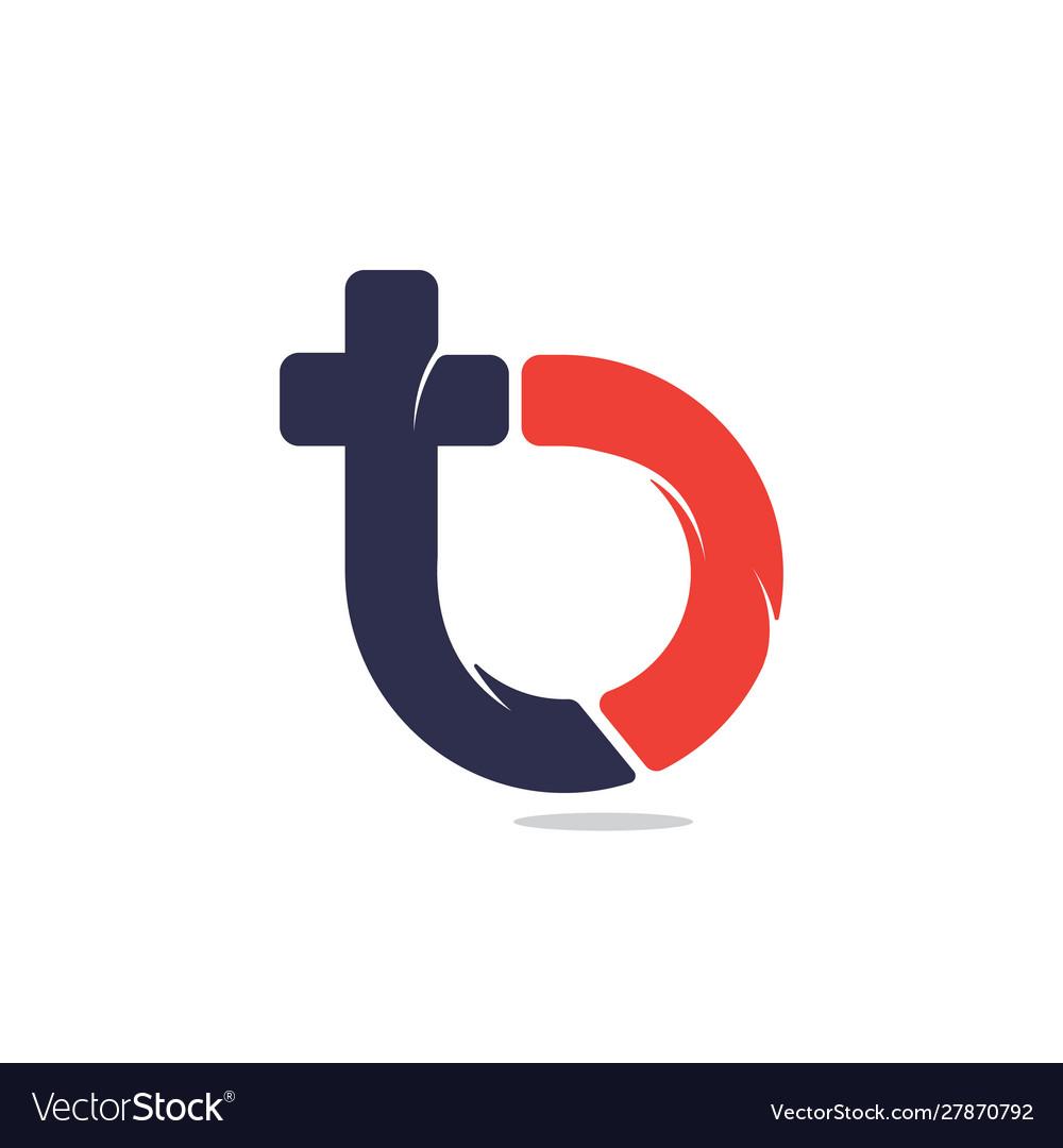 Tb letter logo design