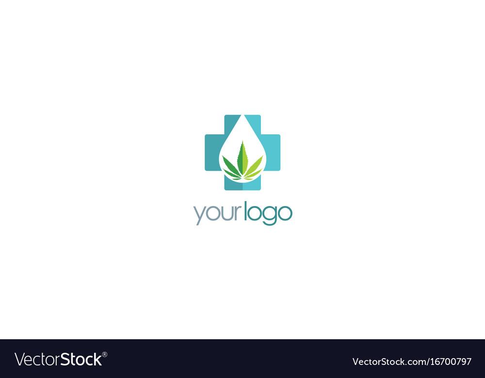 Medic cannabis leaf logo