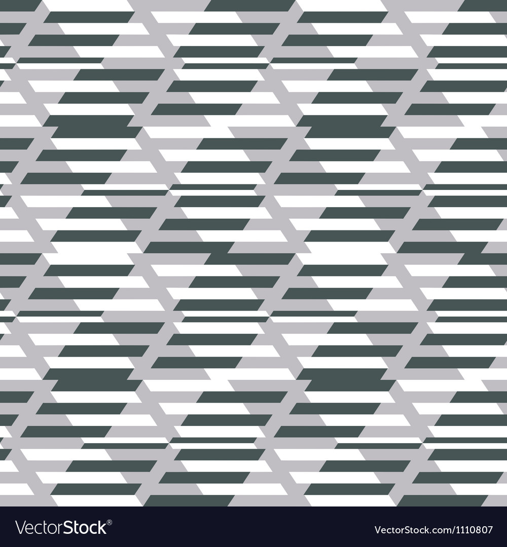 Geometric fashion print vector image