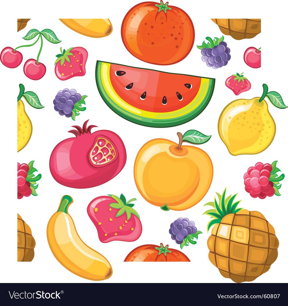 Juicy fruit texture
