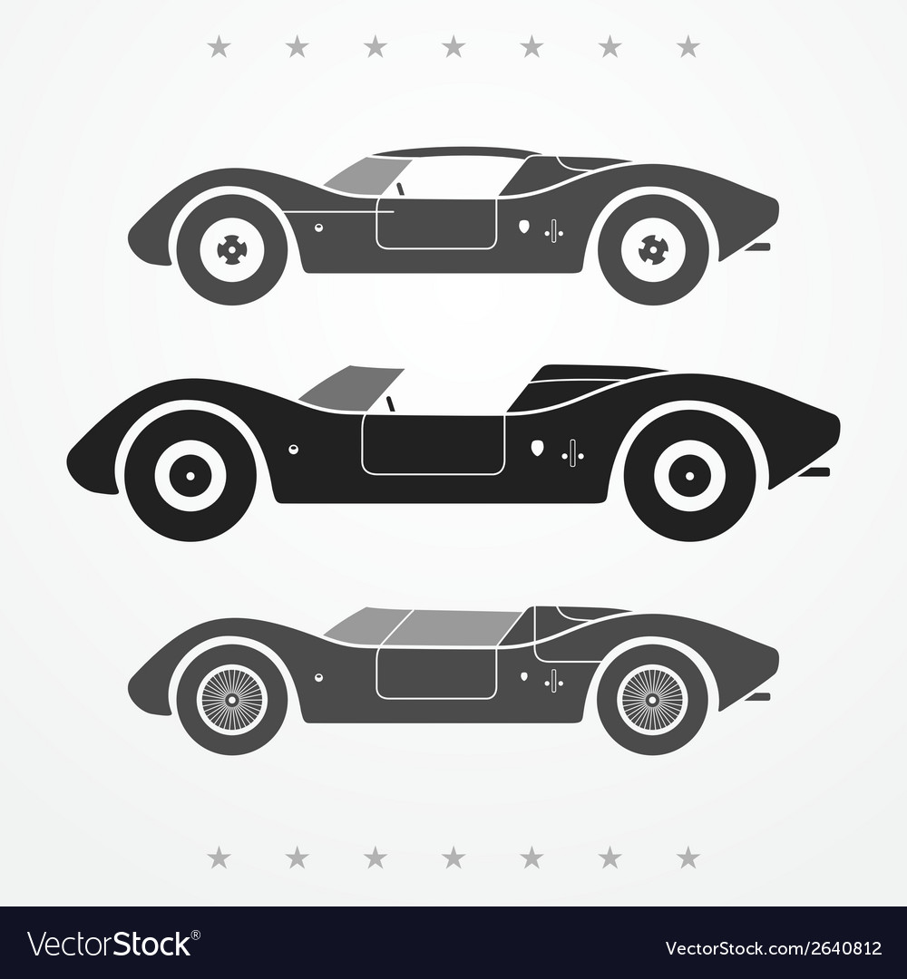 Race cars set