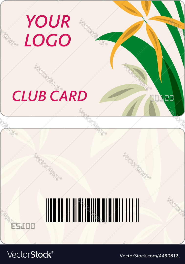 Set of colorful business cards vector image