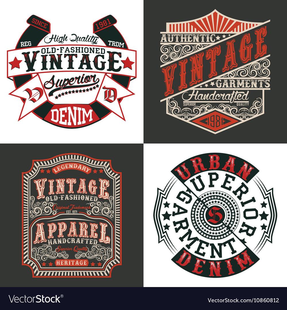 Set tee shirt print designs