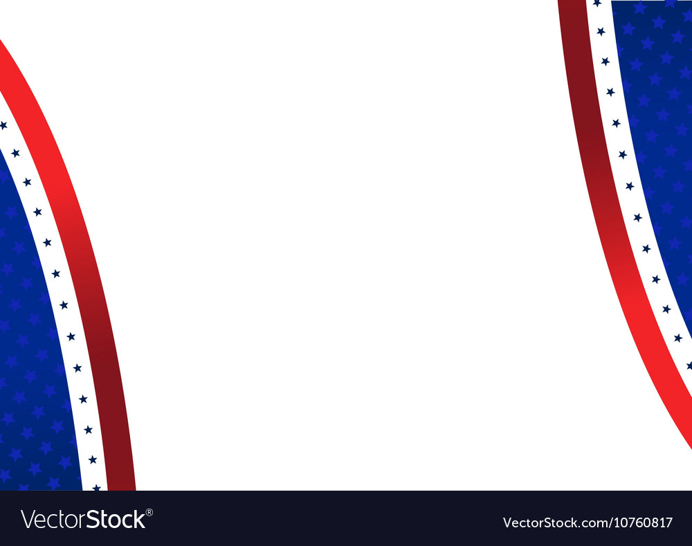 Patriotic American Stars and Stripes Background