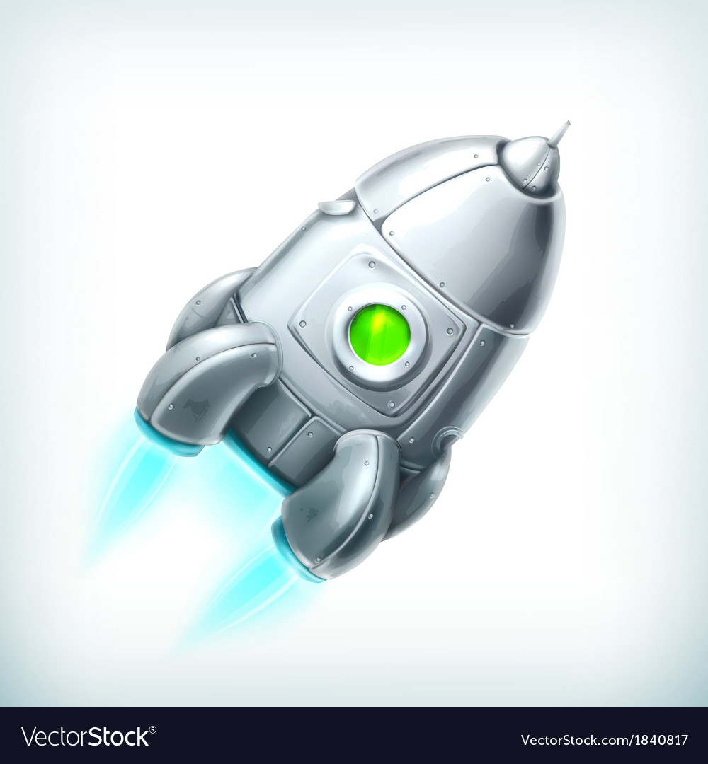 Spacecraft icon vector image